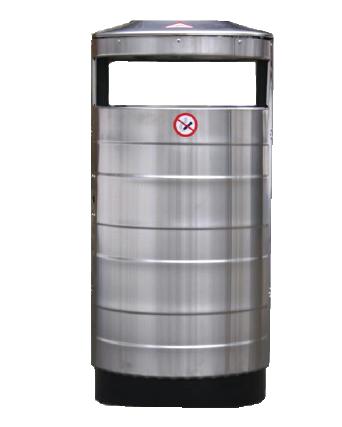 Atkritumu tvertne ar pelnutrauku